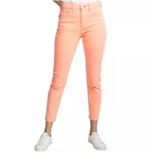 Rag & Bone  Hi-Rise Skinny Ankle Jeans
